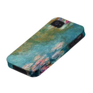 Claude Monet, charca del lirio en Giverny iPhone 4 Carcasa