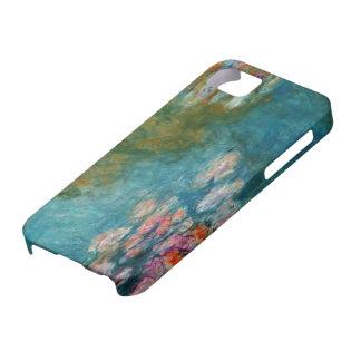 Claude Monet, charca del lirio en Giverny iPhone 5 Protectores