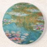Claude Monet, charca del lirio en Giverny Posavaso Para Bebida