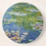 Claude Monet, charca del lirio en Giverny Posavasos Diseño