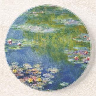 Claude Monet, charca del lirio en Giverny Posavasos Manualidades
