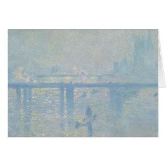 Claude Monet - Charing Cross Bridge Card