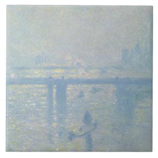 Claude Monet - Charing Cross Bridge Ceramic Tile