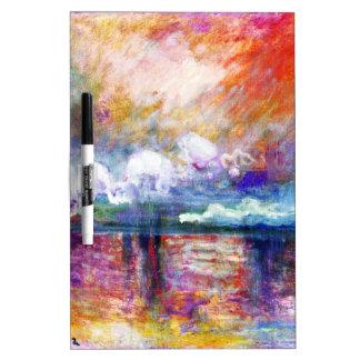 Claude Monet Charing Cross Bridge Dry-Erase Board