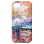Claude Monet Charing Cross Bridge iPhone 5 Covers