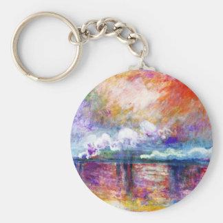 Claude Monet Charing Cross Bridge Key Chain