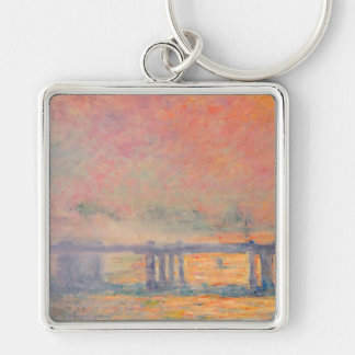 Claude Monet Charing Cross Bridge Key Chains