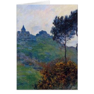 Claude Monet Church at Varengeville Card
