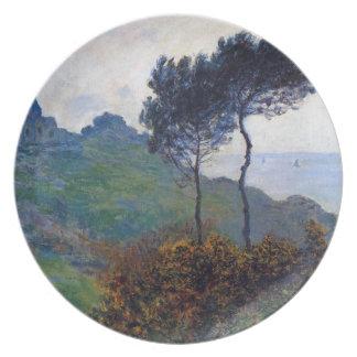 Claude Monet Church at Varengeville Plate