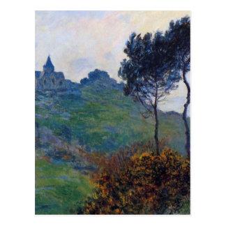 Claude Monet Church at Varengeville Postcard