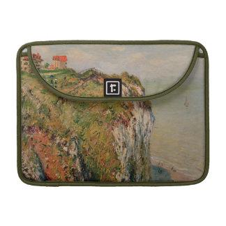 Claude Monet | Cliff at Dieppe, 1882 Sleeve For MacBook Pro