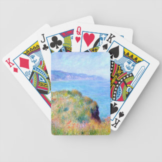 Claude Monet: Cliff Near Pourville Bicycle Playing Cards