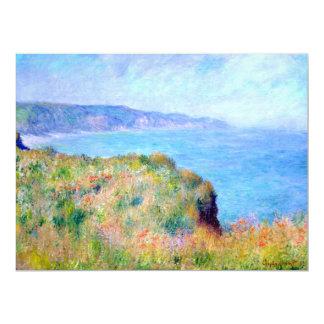 Claude Monet: Cliff Near Pourville Card