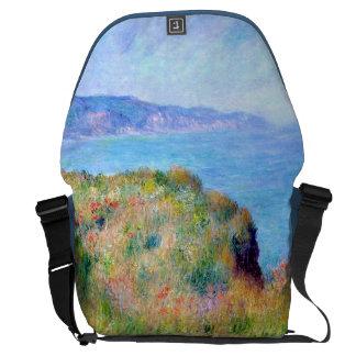 Claude Monet: Cliff Near Pourville Courier Bag