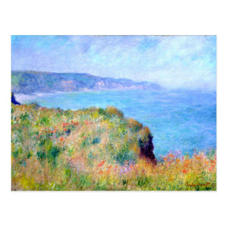 Claude Monet: Cliff Near Pourville Postcard