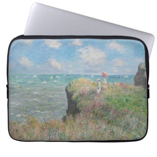 Claude Monet - Cliff Walk at Pourville Computer Sleeve