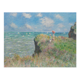 Claude Monet - Cliff Walk at Pourville Postcard