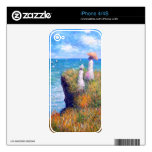 Claude Monet: Cliff Walk at Pourville Skin For The iPhone 4