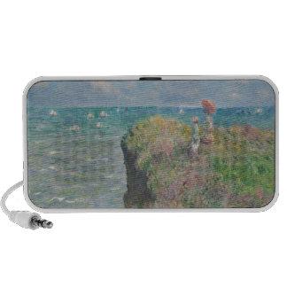 Claude Monet - Cliff Walk at Pourville PC Speakers
