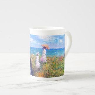 Claude Monet: Cliff Walk at Pourville Tea Cup