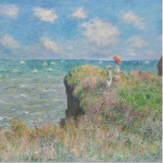 Claude Monet - Cliff Walk at Pourville Statuette