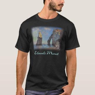 Claude Monet - Cliffs at Etretat T-Shirt