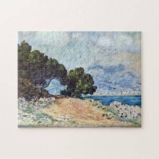 Claude Monet - Coastal Road in Menton puzzle