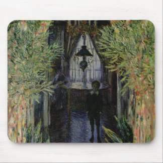 Claude Monet | Corner of a Flat at Argenteuil Mouse Pad