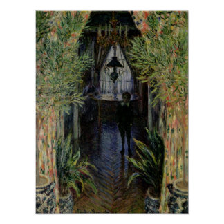 Claude Monet | Corner of a Flat at Argenteuil Poster