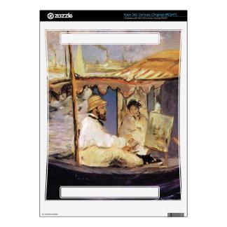 Claude Monet dans son bateau atelier 1874 by Manet Xbox 360 Console Skins
