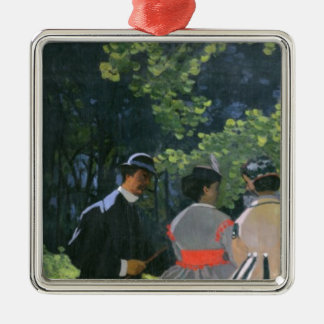 Claude Monet | Dejeuner sur l'Herbe, Chailly Metal Ornament