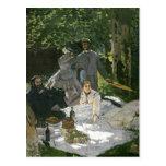 Claude Monet | Dejeuner sur l'Herbe, Chailly Postcard