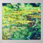 Claude Monet - DES Nympheas del agua Lillies - de  Poster