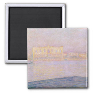 Claude Monet | Ducal Palace from San Giorgio, 1908 2 Inch Square Magnet