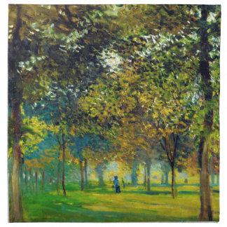 Claude Monet El Allee Du Champ De Foire Servilleta De Papel