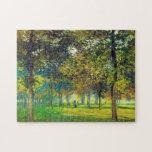 Claude Monet: El Allee Du Champ De Foire Puzzle
