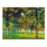 Claude Monet: El Allee Du Champ De Foire Tarjeta Postal