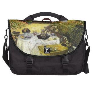 Claude Monet: El almuerzo Bolsas Para Ordenador