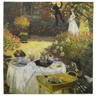 Claude Monet El almuerzo Servilletas