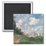 Claude Monet el | el puerto deportivo en Imán Cuadrado
