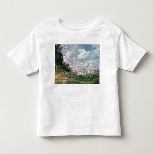 Claude Monet el | el puerto deportivo en Playera De Bebé
