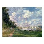 Claude Monet el | el puerto deportivo en Postal