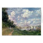 Claude Monet el | el puerto deportivo en Tarjeta De Felicitación