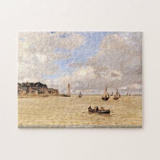 Claude Monet - el faro Puzzle