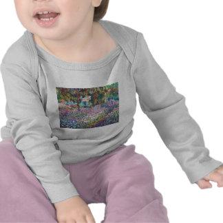 Claude Monet - el jardín del artista en Givern Camiseta