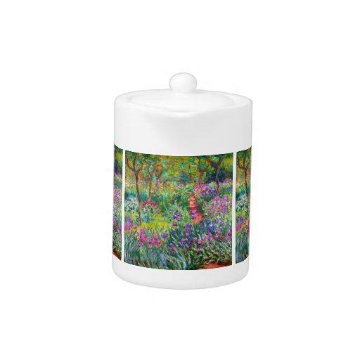 Claude Monet: El jardín del iris en Giverny