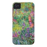 Claude Monet: El jardín del iris en Giverny iPhone 4 Carcasa
