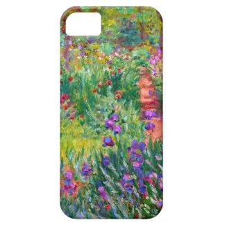 Claude Monet: El jardín del iris en Giverny iPhone 5 Carcasa