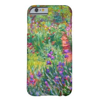 Claude Monet: El jardín del iris en Giverny Funda De iPhone 6 Barely There