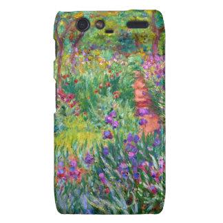 Claude Monet: El jardín del iris en Giverny Motorola Droid RAZR Carcasas